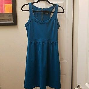 NEW CYNTHIA ROWLEY DRESS AQUA BLUE, SIZE M